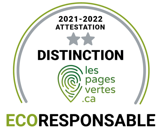 Distinction Ecoresponsable
